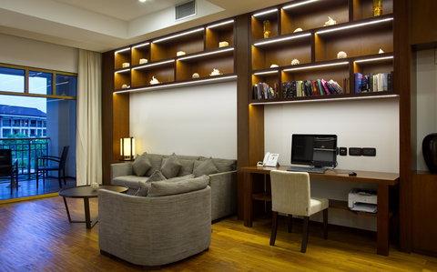 Savoy Resort & Spa Seychelles - Library