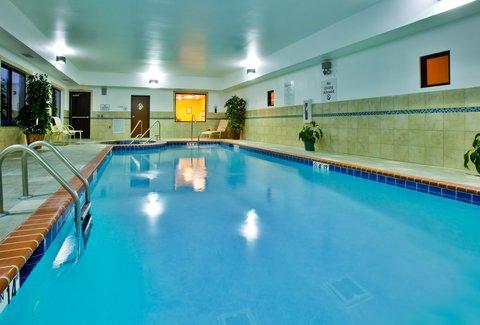 Holiday Inn Express WATERLOO-CEDAR FALLS - Take a dip in our heated pool
