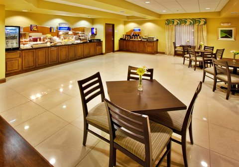 Holiday Inn Express WATERLOO-CEDAR FALLS - Complimentary breakfast featuring our signature cinnamon rolls
