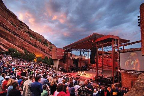 Homewood Stes Denver Dtwn Conv Ctr - Red Rocks Amphitheater Credit Steve Crecelius VISI