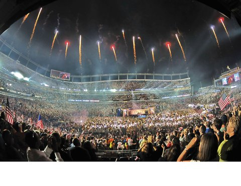 Homewood Stes Denver Dtwn Conv Ctr - Fireworks At Sports Authority Field Credit Steve C