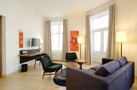 Scandic Webers - Scandic Webers Interior Suite Room