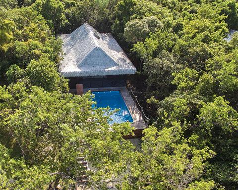 Tiamo Resort - PoolVillaFromthesky