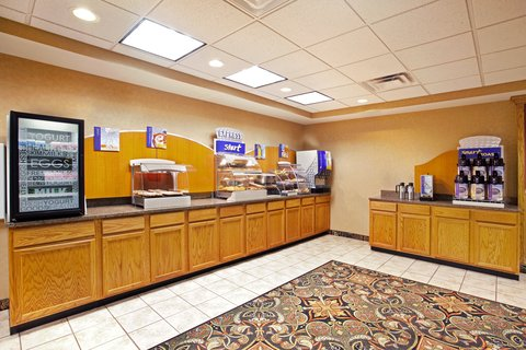 Holiday Inn Express Rochelle - Breakfast Bar
