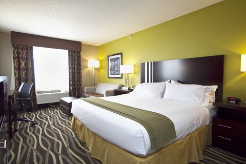 Holiday Inn Express ADRIAN - King Bed Guest Room