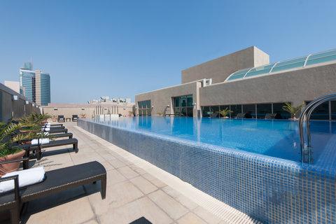 InterContinental AL KHOBAR - Roof-Top Swimming Pool