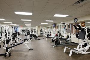 On Site New York Sports Club Strength Training Area