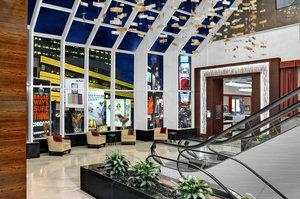 Crowne Plaza Times Square Manhattan Hotel Lobby Atrium