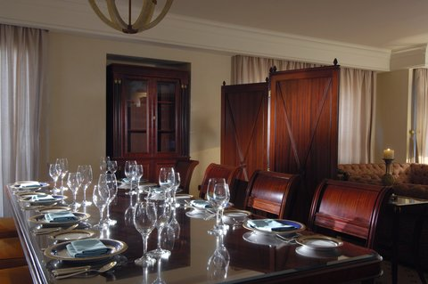InterContinental CITYSTARS CAIRO - Penthouse - Dining Room