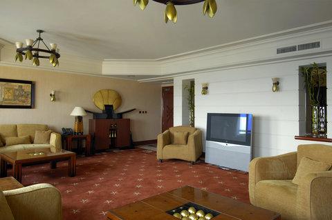 InterContinental CITYSTARS CAIRO - Luxor Suite Living Room