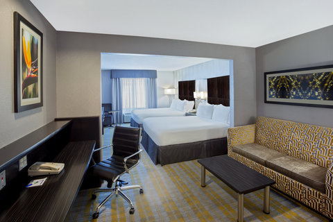 Holiday Inn Express & Suites COOPERSTOWN - Oversized Room - Jr  Suite with 2 Queen Beds