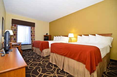 Holiday Inn Express ATLANTA-STONE MOUNTAIN - Two Queen Beds Guest Room