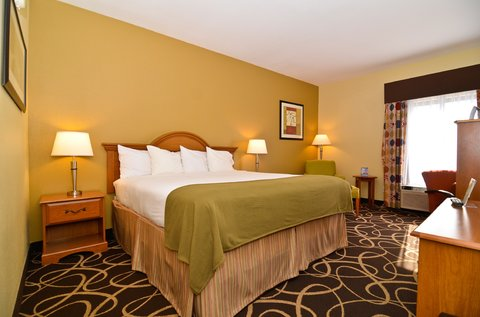 Holiday Inn Express ATLANTA-STONE MOUNTAIN - King Bed Leisure Guest Room