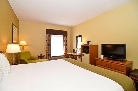 Holiday Inn Express ATLANTA-STONE MOUNTAIN - King Bed Lesiure Guest Room
