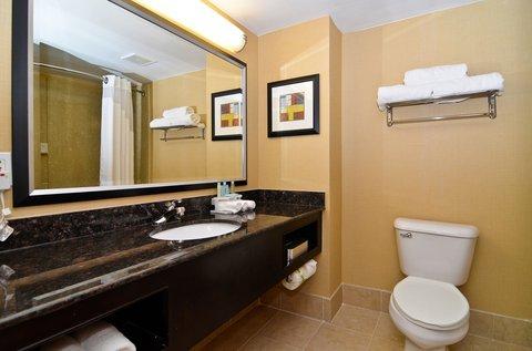 Holiday Inn Express ATLANTA-STONE MOUNTAIN - Guest Bathroom