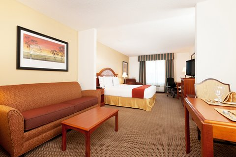 Holiday Inn Express & Suites COLUMBIA-I-26 @ HARBISON BLVD - HIE Columbia Large King Suite w pull out sofa  free wifi  37  TV