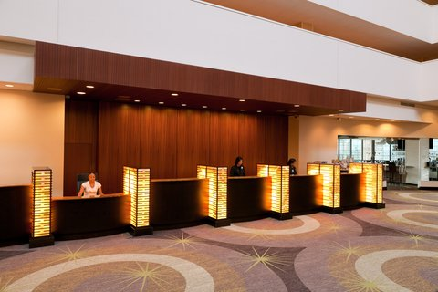 Holiday Inn Chicago Mart Plaza Hotel - Front Desk Reception is Located on the 15th Floor