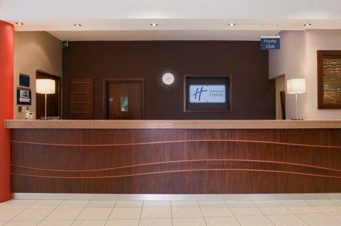 Holiday Inn Express DUBLIN AIRPORT - The charming and welcoming reception at Holiday Inn Express