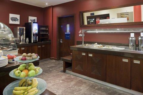 Holiday Inn Express DUBLIN AIRPORT - The appetizing breakfast bar at Holiday Inn Express Dublin Airport