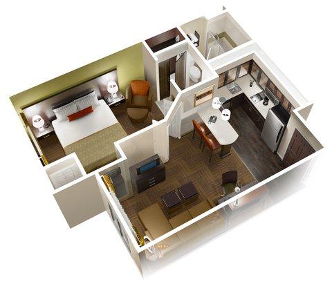 Staybridge Suites WEST EDMONTON - King Bed Studio Suite