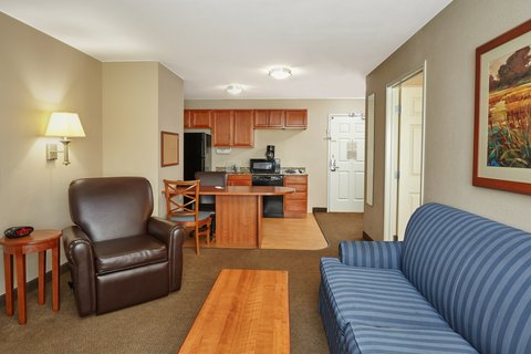 Candlewood Suites AURORA-NAPERVILLE - ADA Handicapped accessible One Bedroom Suite living area
