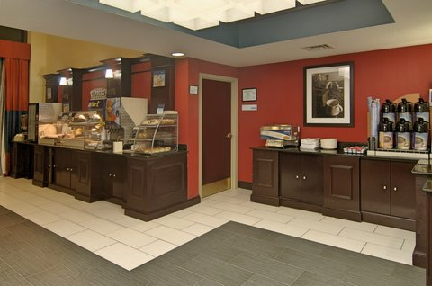 Holiday Inn Express & Suites Austin SW - Sunset Valley - Breakfast Bar