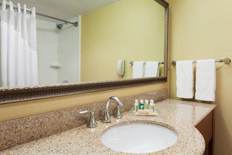 Holiday Inn BANGOR - Standard Guest Bathroom vanity