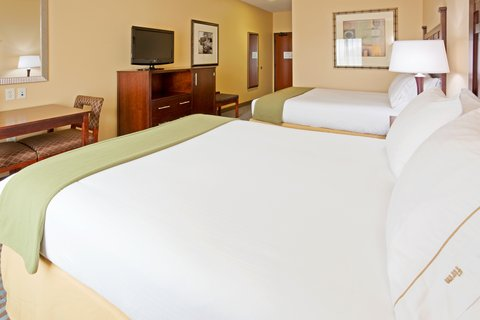 Holiday Inn Express & Suites MOUNTAIN IRON (VIRGINIA) - Queen Bed Guest Room