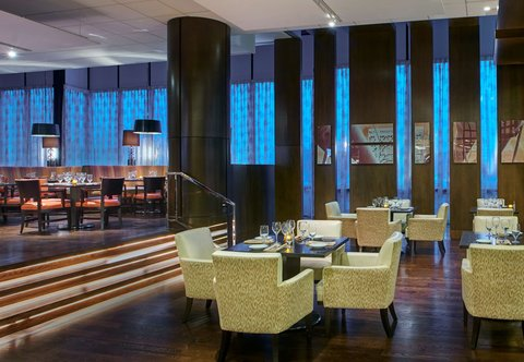 Teaneck Marriott at Glenpointe - Pancetta Dining Area