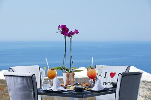 Myconian Imperial Resort & Thalasso Spa Center - Breakfast
