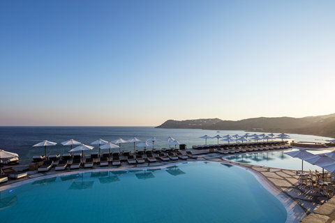 Myconian Imperial Resort & Thalasso Spa Center - Pools Panoramic