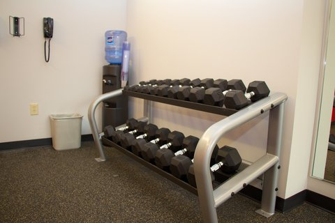 Holiday Inn ATHENS-UNIVERSITY AREA - Free weights for all your work out needs