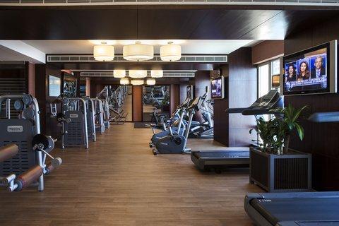 Al Manshar Rotana Hotel - Bodylines Gym