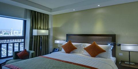 فندق كراون بلازا المدينة - King Bed with Haram View