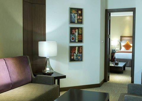 فندق كراون بلازا المدينة - Crowne Plaza Suite