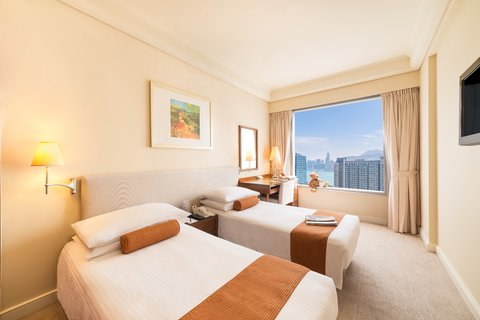香港都会海逸酒店 - Club Deluxe Room Twin Bed