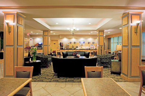 Holiday Inn Express Hotel & Suites Amarillo - Breakfast Bar