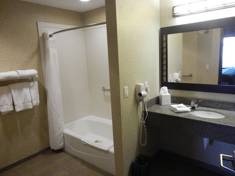 Holiday Inn Express & Suites ST. GEORGE NORTH - ZION - Handicap Accessible One Bedroom Suite Bathroom