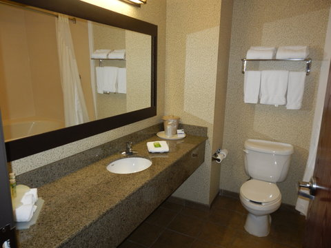 Holiday Inn Express & Suites ST. GEORGE NORTH - ZION - King Bed Executive Guest Room Bathroom
