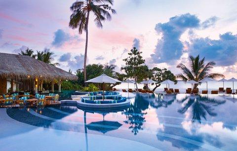 Six Senses Laamu - Swimming Pool
