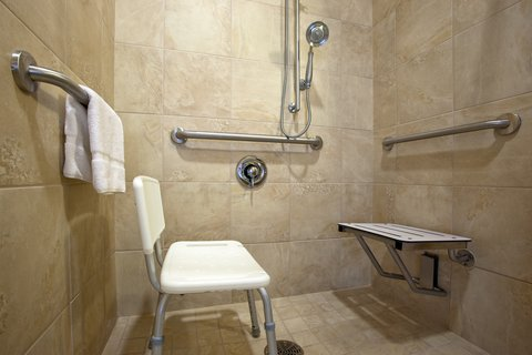 Holiday Inn Express & Suites DAYTON SOUTH FRANKLIN - ADA Handicapped accessible with roll-in shower at franklin Ohio