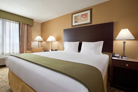Holiday Inn Express & Suites DAYTON SOUTH FRANKLIN - King Bed Guest Room at Holiday Inn Express Franklin Ohio