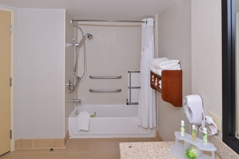 Holiday Inn Express CRESTWOOD - Accessible Bathroom