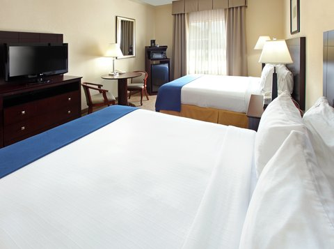 Holiday Inn Express Fort Smith Executive Park Hotel - Queen Bed Guest Room