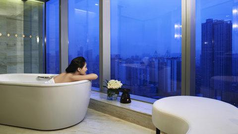 InterContinental FUZHOU - Guest Bathroom
