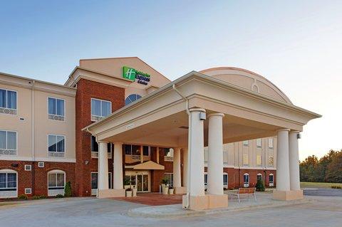 Holiday Inn Express & Suites TALLADEGA - Entrance