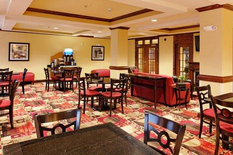 Holiday Inn Express & Suites TALLADEGA - Breakfast Area