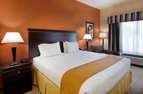 Holiday Inn Express & Suites TALLADEGA - King Bed Guest Room