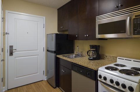 TownePlace Suites Harrisburg Hershey - One   Two-Bedroom Suite Kitchen