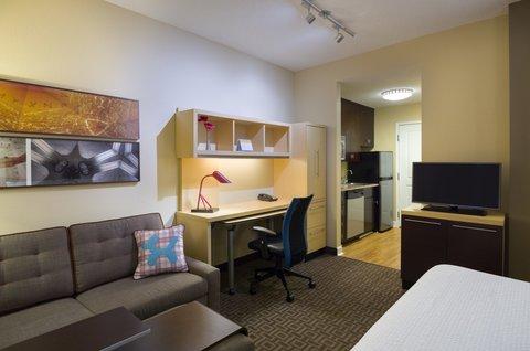 TownePlace Suites Harrisburg Hershey - Studio  Queen   Sofabed
